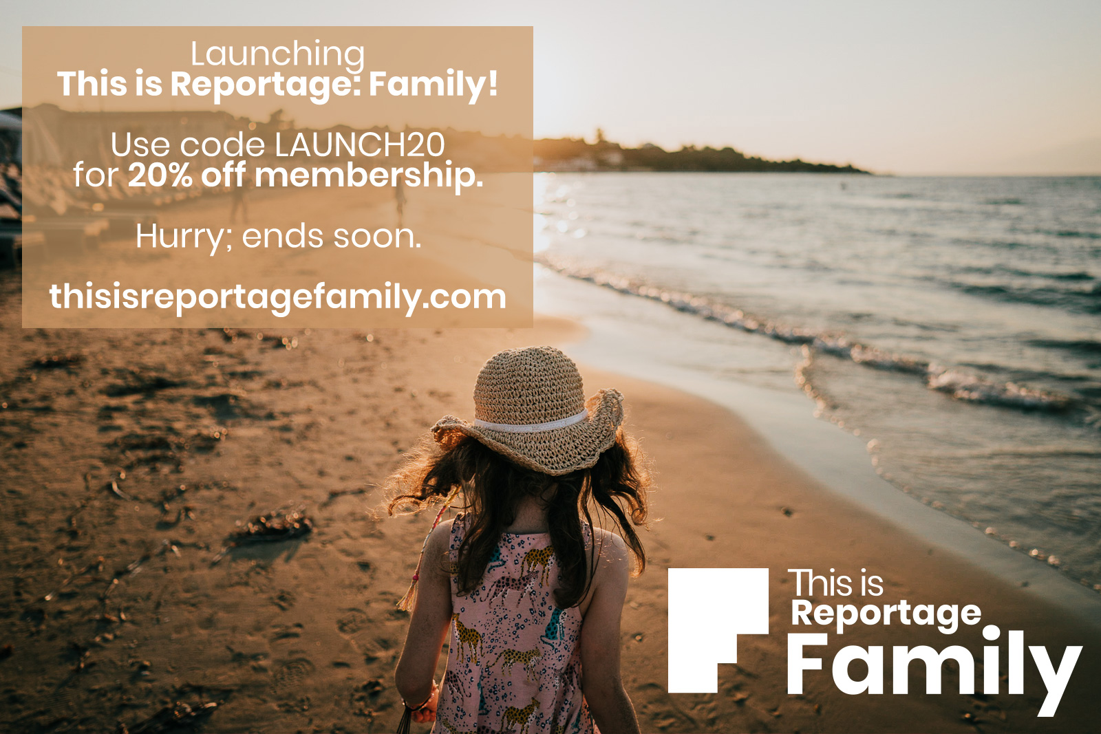 this is reportage: family launch offer