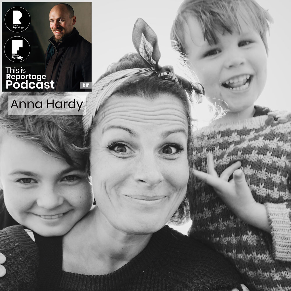 anna hardy - this is reportage podcast